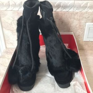 Coach Maryann Suede Boots New in Box